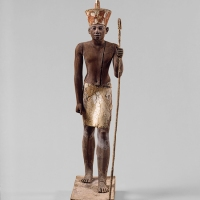 Guardian figure is supposed to protect Egyptian Art