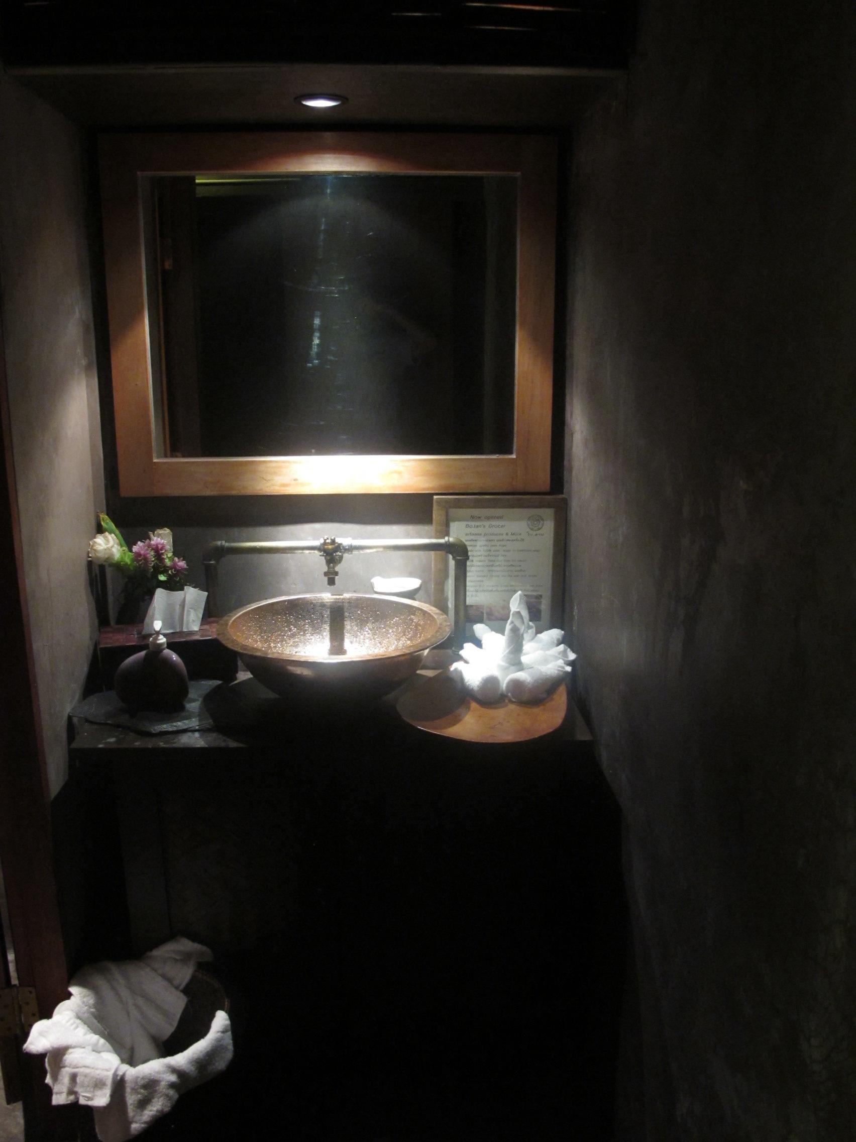 bathroom Bolan restaurant