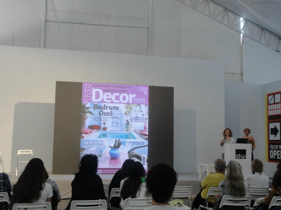 All decor and designmixer at İstanbul design week