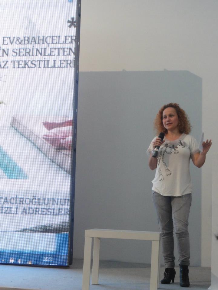 Şanel Şan at İstanbul Design Bloggers Meeting