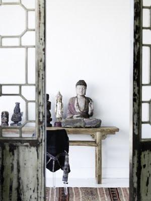 spiritual home in zen style