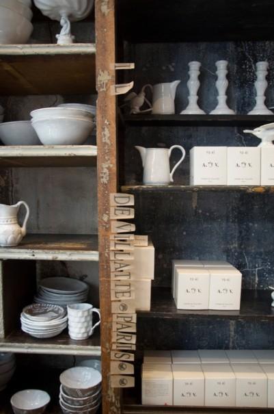 vintage kitchen closet