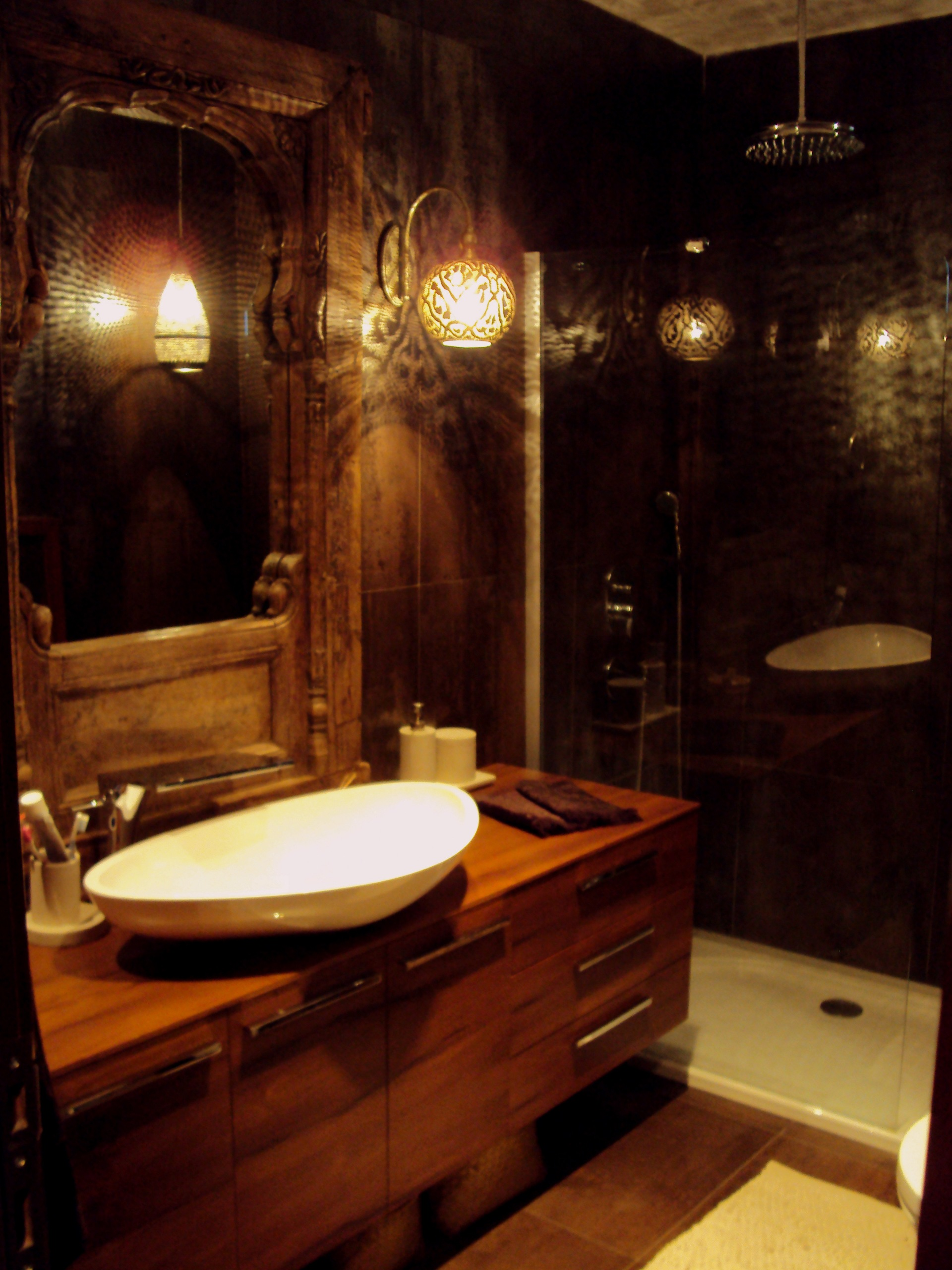 Exotic Bathroom Project By Designmixer Designmixer