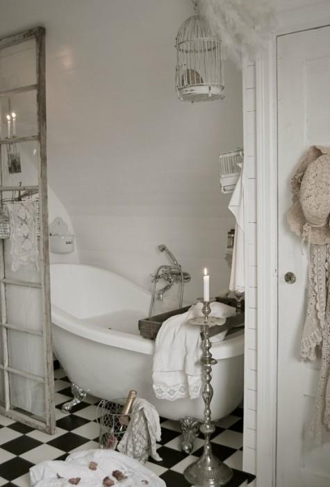 white nordic bath