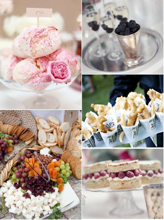Open buffet serving ideas