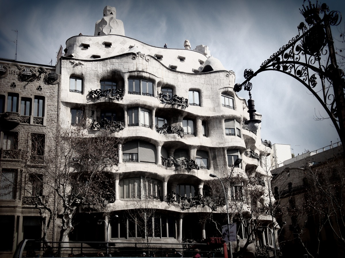 Barcelona, a fairy city living in Art Nouveau Style