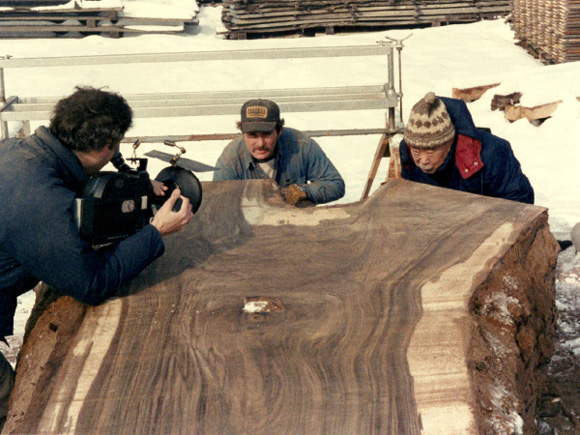 George Nakashima takes a closer look at the grain