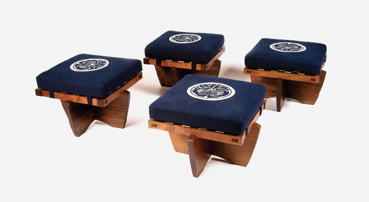 Greenrock Ottomans - stools Japanese furniture design