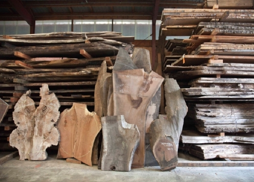 Nakashima woodworkers inventory