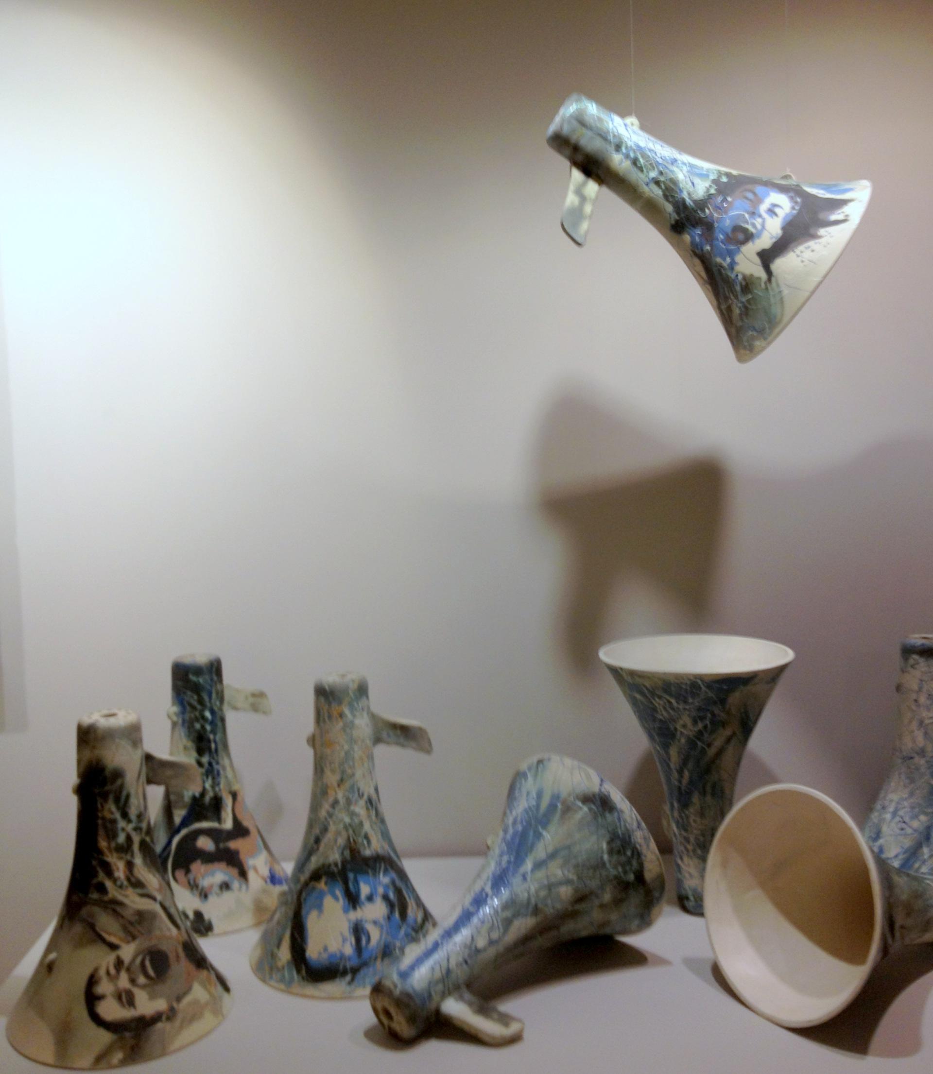 Maddenin Halleri sergisi Meric Kara Mehmet Kutlu Yüksek Desibel collective work