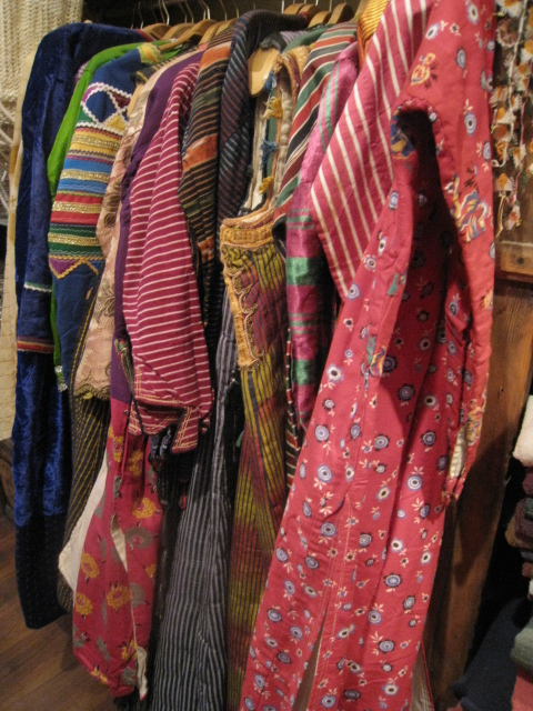 Colorful Antique Anatolian dresses