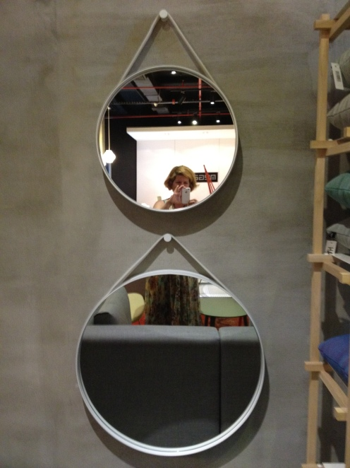 Strap Mirror by Hay Design