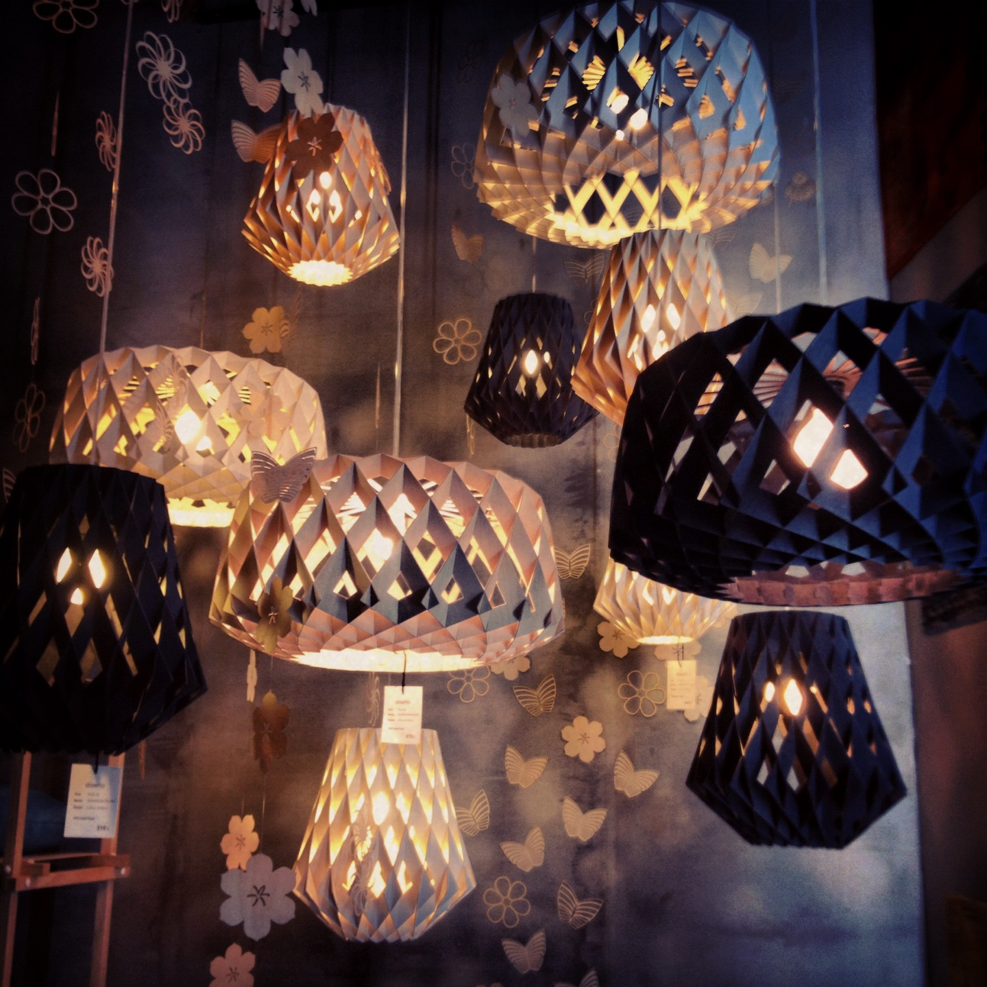 Showroom Finland Lamps