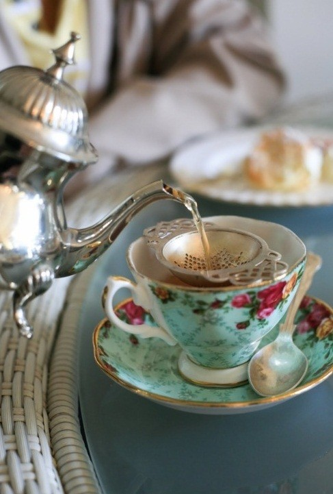 vintage english teapot