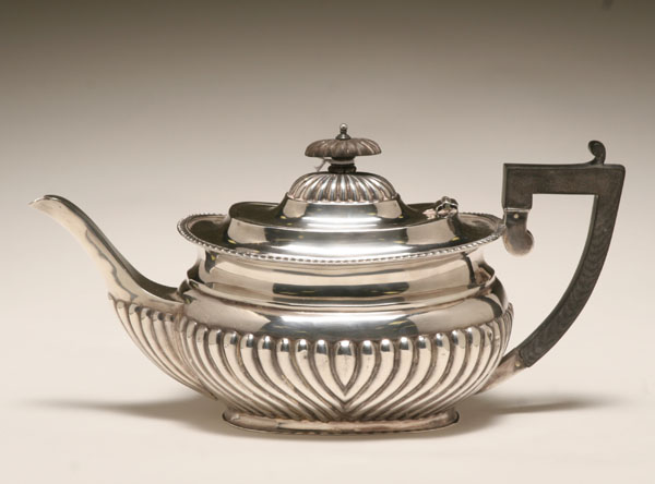 William Hutton & Sons Ltd silver teapot