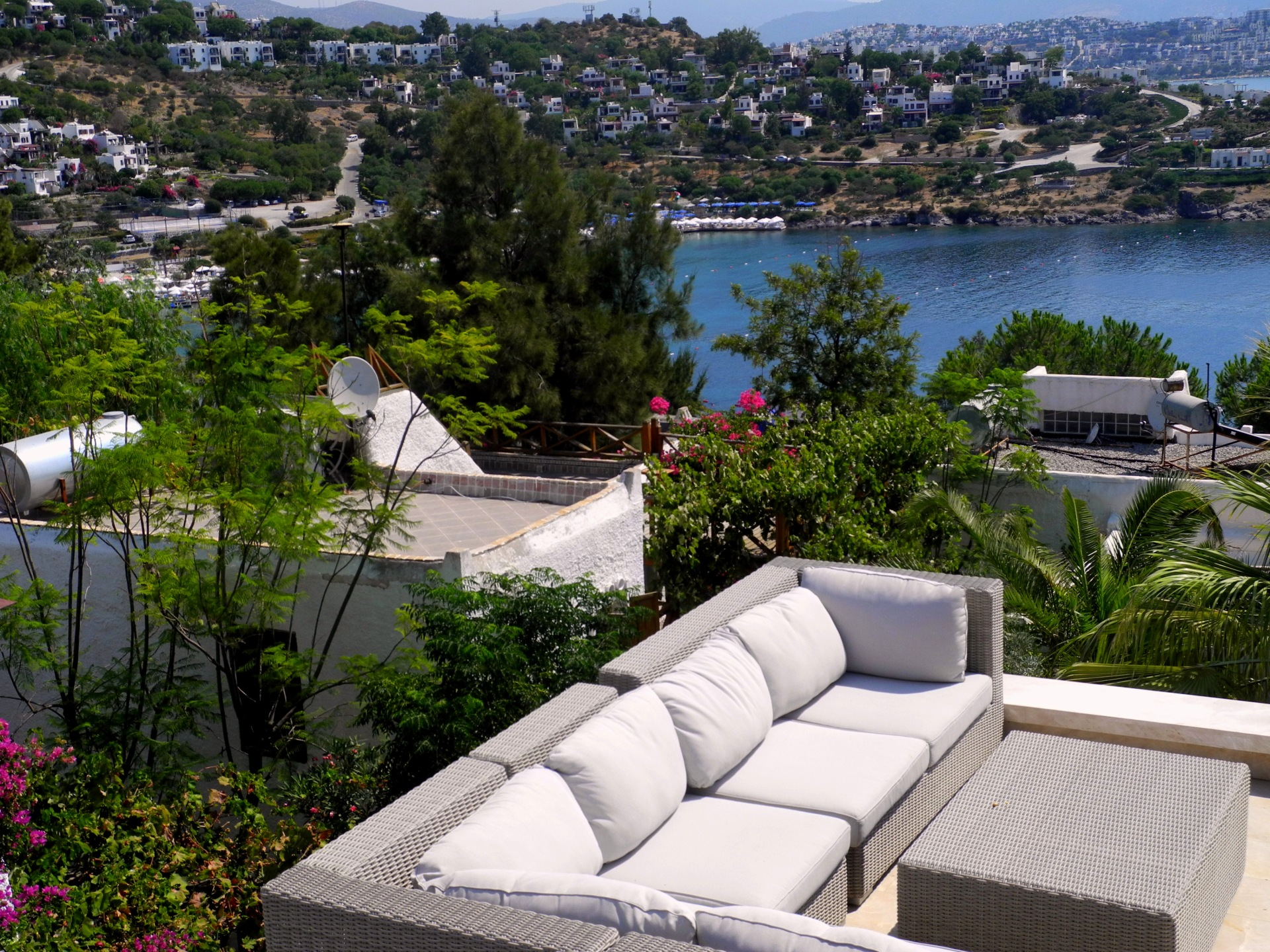 Bodrum outdoor living style