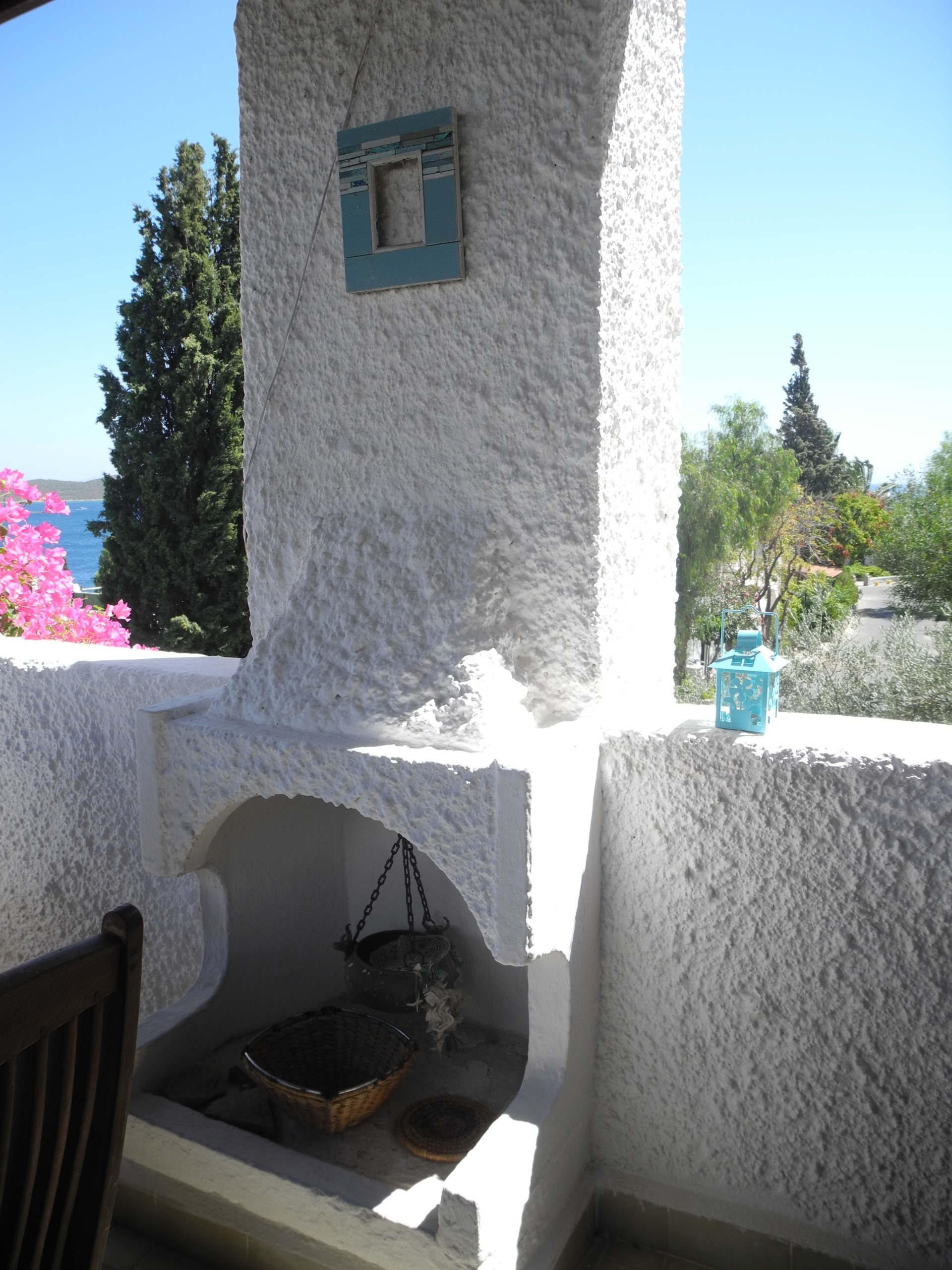 Outdoor style living in bodrum