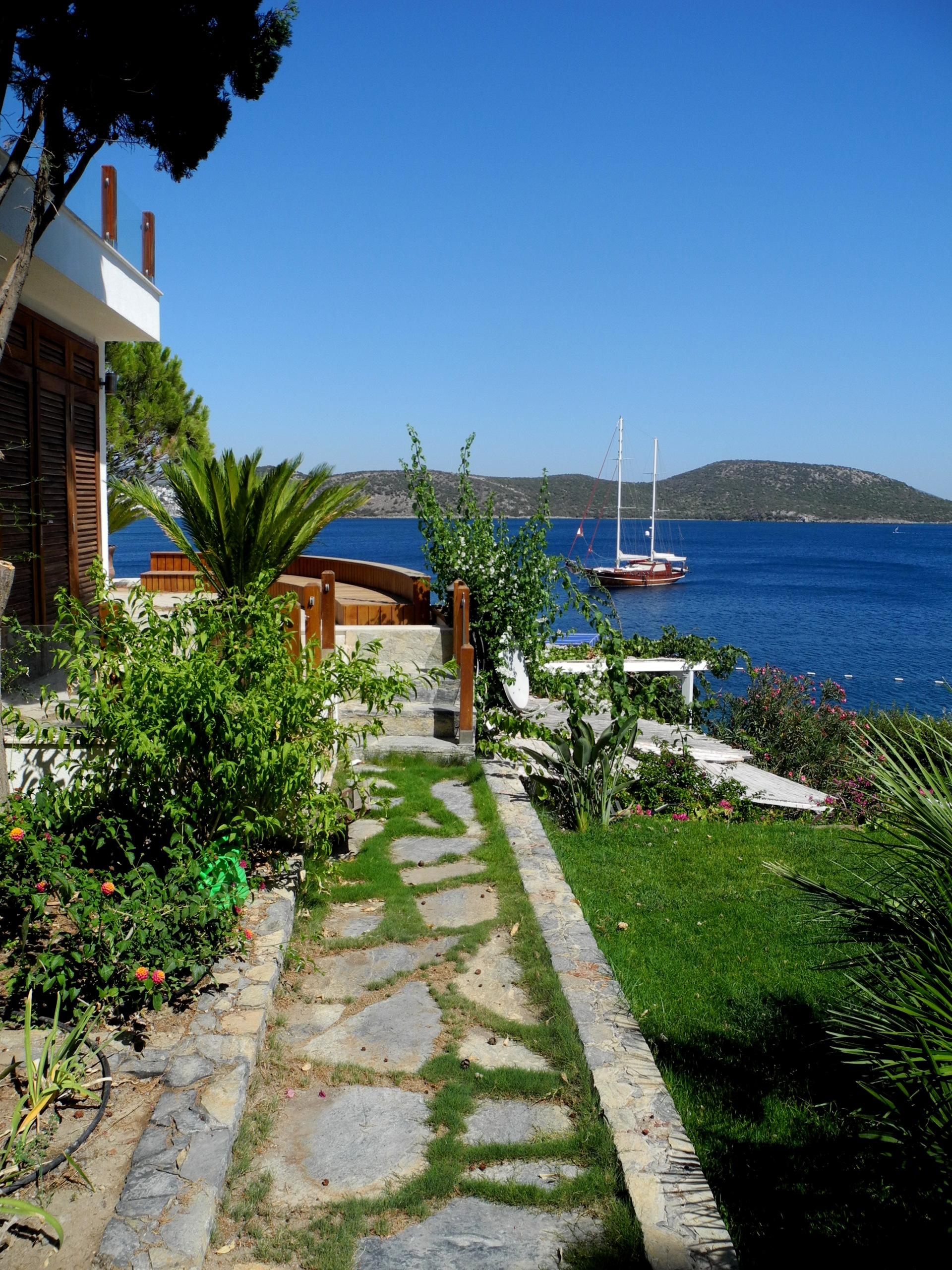 Summer Houses and bay views