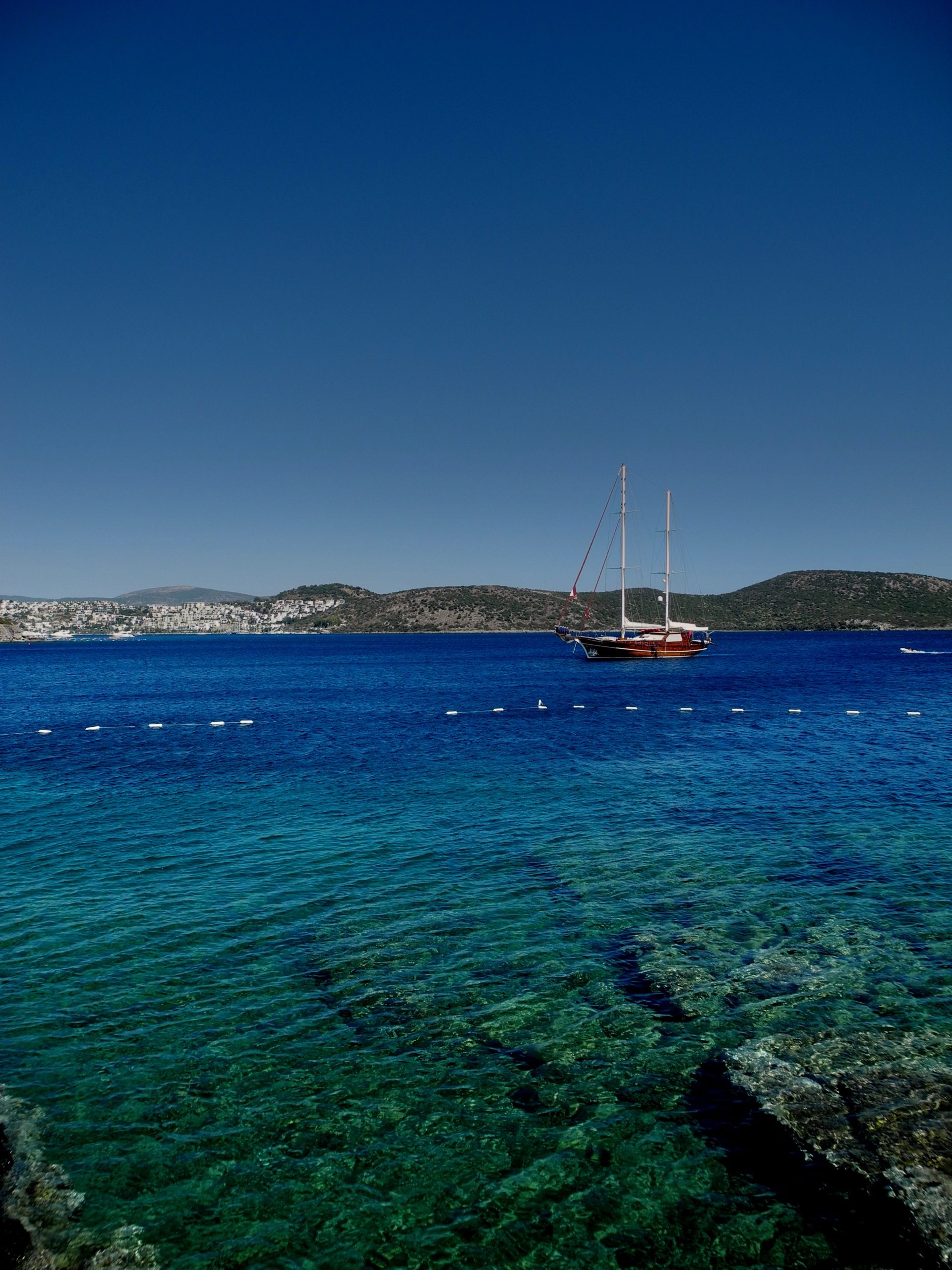 Bodrum bay view