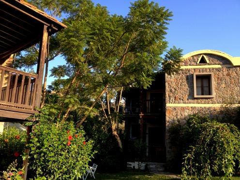 Stone Houses of Bodrum and the green Oasis
