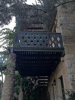 Otantik Türk mimarisi ada hotel, bodrum
