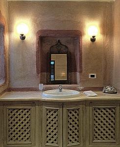 authentic bathroom Ada Hotel