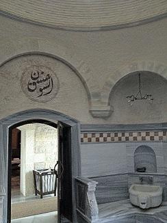 Turkish hammam design, ada hotel