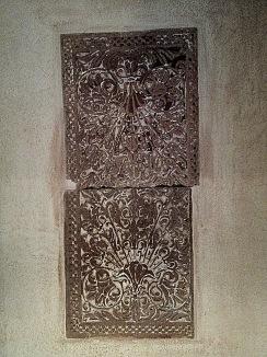 Decorative carved Stone