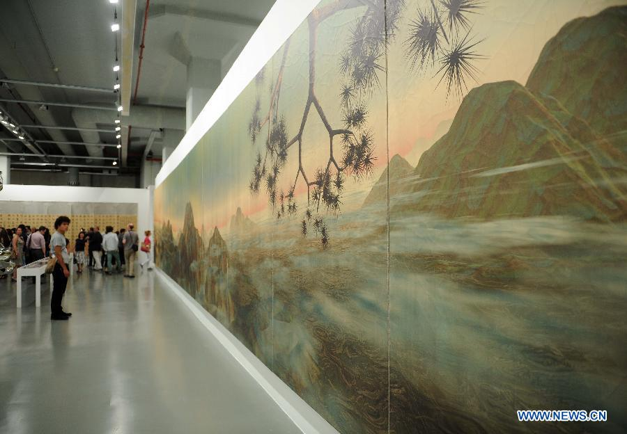 Digital Artwork at Museum of Modern Art in Istanbul by Feng Mangbo