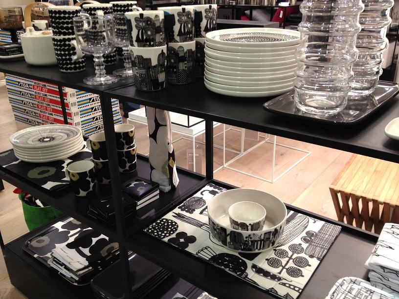 Marimekko products at Selfridges