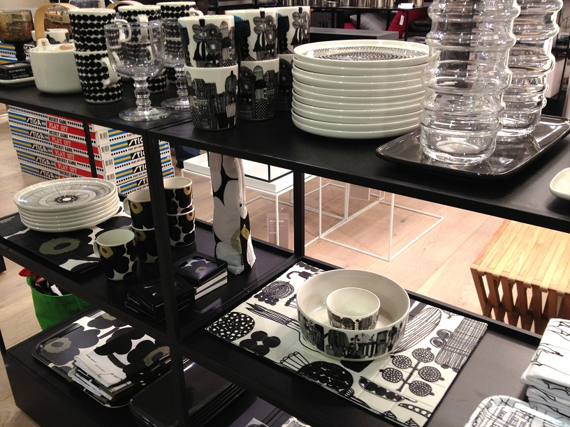 Marimekko products at Selfridges