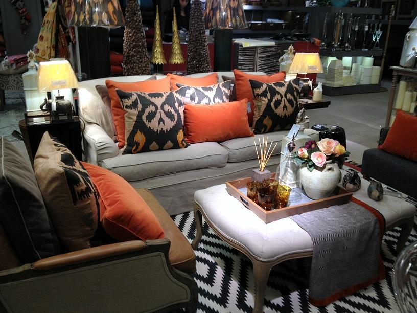 Room decor and Interior styling at Selfridge