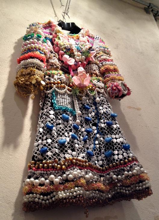Beaded dress in Rokit Vintage Shop