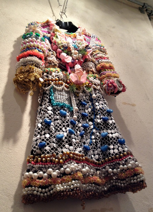 Beaded dress in Rokit Vintage Shop