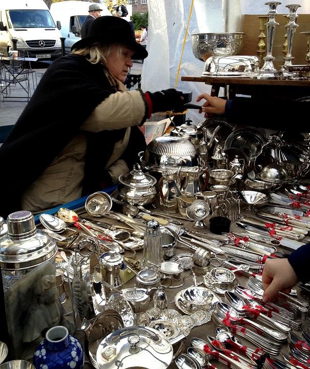 Open Market Silver Cutlery