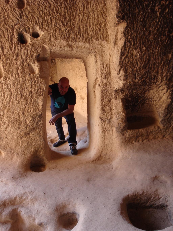 Natural stone caverooms of Cappodocia
