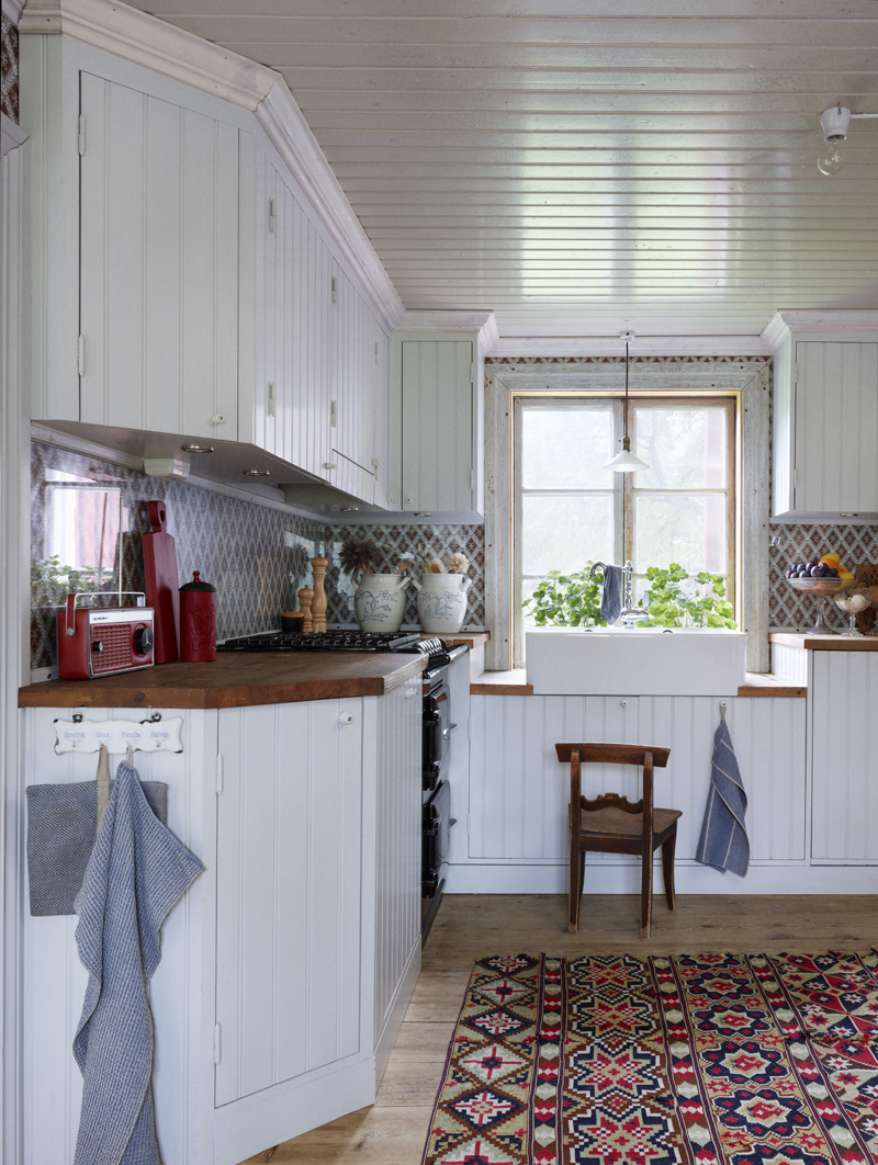 creative mix in the kitchen design