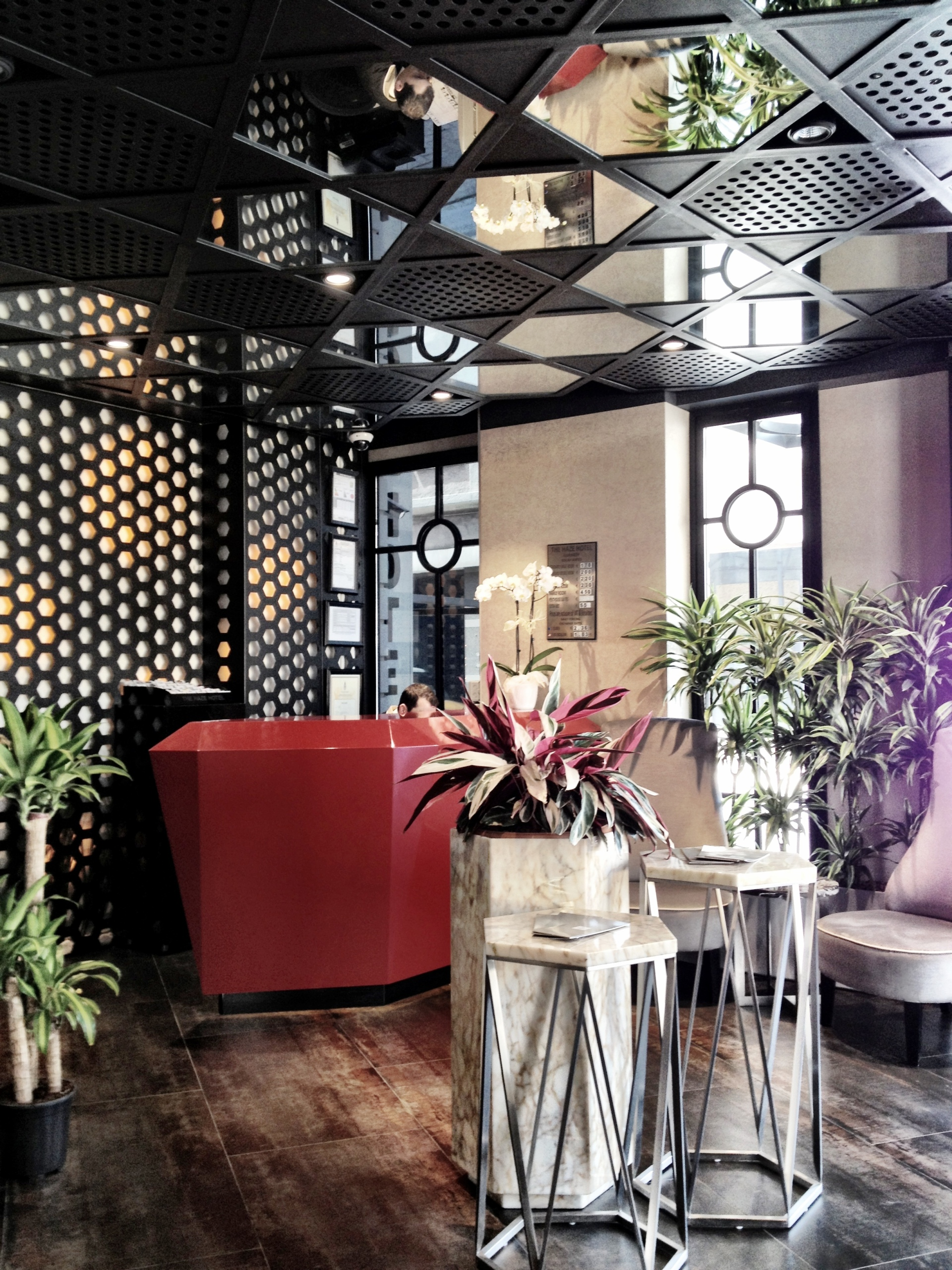 The Haze Hotel Karakoy lobby