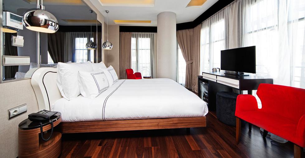 The Haze Hotel rooms
