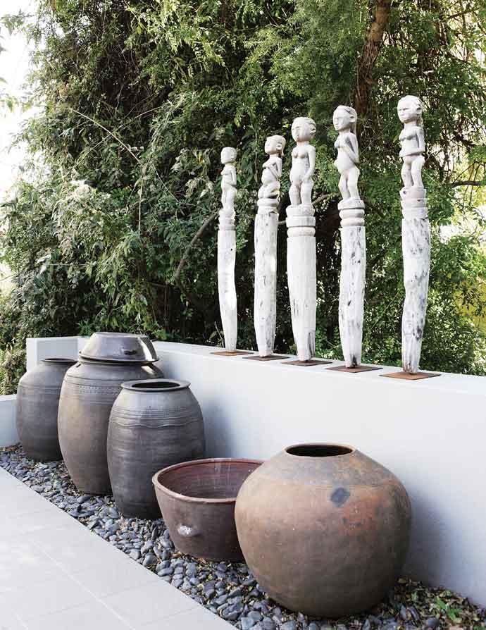 Arts & Artefacts in the garden