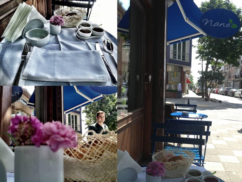 Kalamış ta küçük bir lokanta