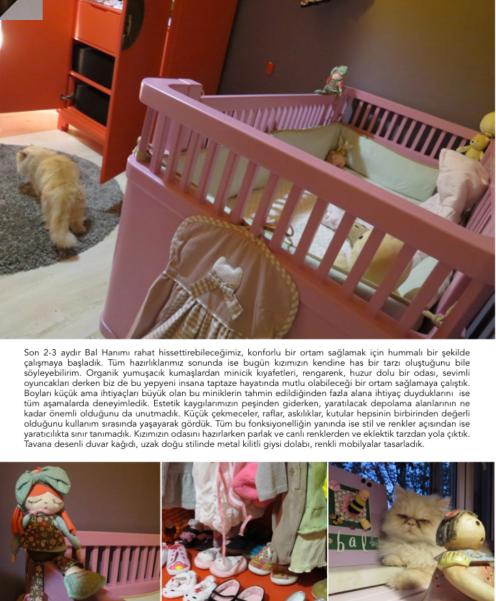 designmixer Bast Home Kasım sayısında