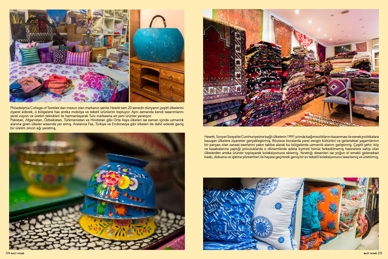 Tulu textiles store in Sultanahmet designmixer