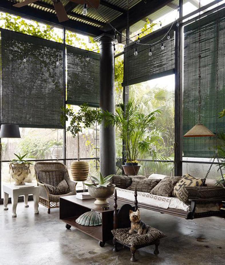 I d bir samimi tropikal evler designmixer for Tj garden rooms