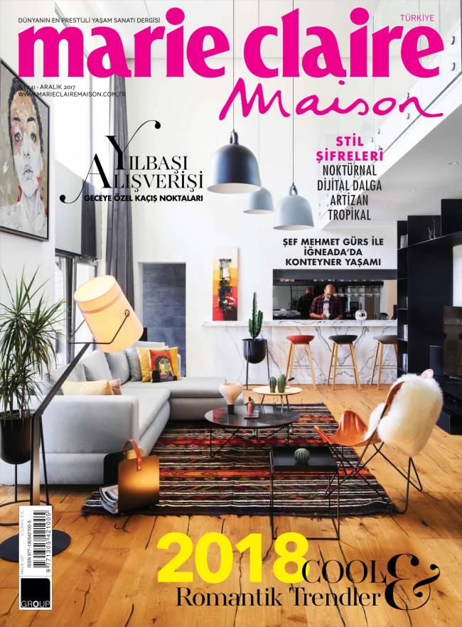 Marie Claire Maison Aralık 2017