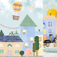 KIDS Wallmurals